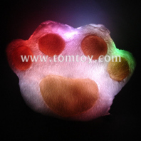 led fluffy paw pillow tm121-002