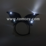 led halloween bat headband tm04611