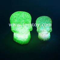 led halloween crystal skull night lights tm03132