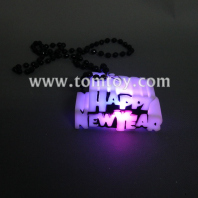 led happy new year necklace tm00073