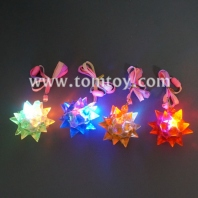 led jelly crystal star necklace tm173-022