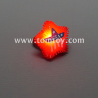led jelly usa flag star rings tm03803
