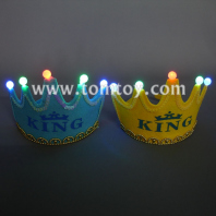led light king crown hat tm02718