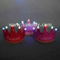 led light princess crown hat tm02717