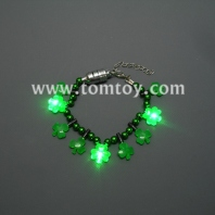 led light shamrock bracelet tm01098