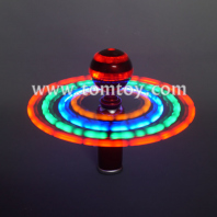 led light up disco ball spinner tm03070-rd