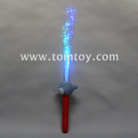 led light up dolphin fiber optic wand tm04034