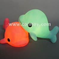 led light up dolphin piggy bank tm03232