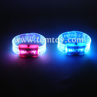 led light up flashing wristbands multicolor bracelet parties birthdays events bracelet tm02093