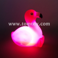 led light up floating flamingo tm06756