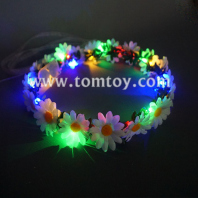led light up flower lei tm02572