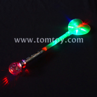 led light up heart  shape wand for party tm03168