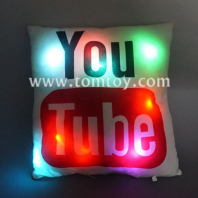 led light up plush youtube cushion tm03186