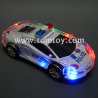 led light up police car tm284-001