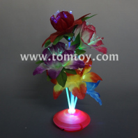 led light up potted plant flower tm03230
