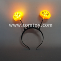 led light up pumpkin bopper headband tm04269