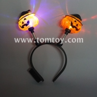 led light up pumpkin headband tm277-006-pumpkin
