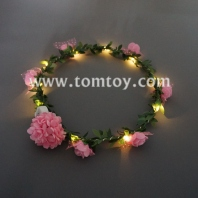 led light up rose flower crown tm02663