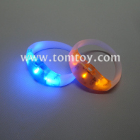 led light up running silicone bracelet tm02876