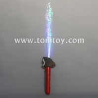 led light up shark fiber optic wands tm04031