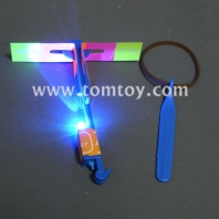 led light up slingshot helicopter tm193-001-bl