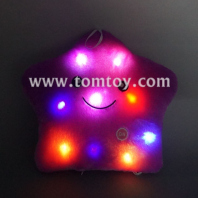 led light up smile star pillow tm03192