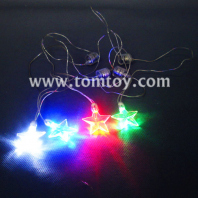 led light up star pendant necklace tm01929