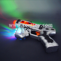 led light up toy gun set by art creativity tm00401