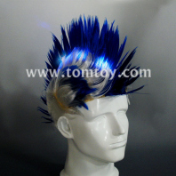 led light up tribal chief feather hat tm02190