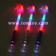 led light up unicorn wand tm04606