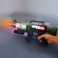 led lights super space plastic gun with sound tm00453