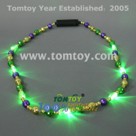 led mardi gras bead necklace tm041-029