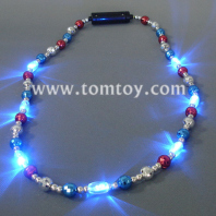 led mardi gras beads necklace tm041-033