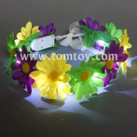 led mardi gras garland tm03086-ygp