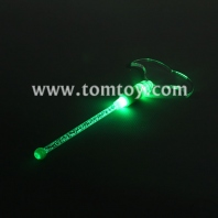 led moustache drink stirrer stick tm03290-moustache