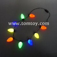 led multicolor bulb necklace tm02856