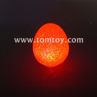 led orange eva easter egg lights tm03126