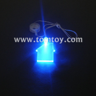 led pendant necklace-house tm00053-house