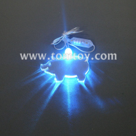 led pig pendant necklace tm00057-pig