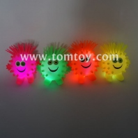 led pineapple monster fuzzy ball tm02823