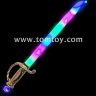 led pirate sabre sword tm03876