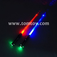 led plastic flashing decorative sword tm03165