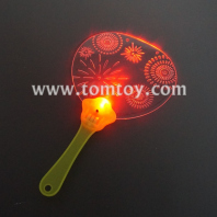 led printing light up hand fan tm02937
