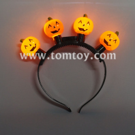 led pumpkin headbands tm03550