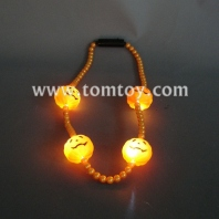 led pumpkin necklace tm041-019