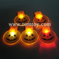 led pumpkin pendant necklace tm00482