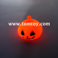 led pumpkin shaped squishy puffer balls tm02859