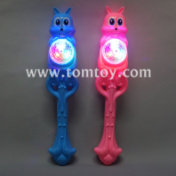 led rabbit light up wand with sound tm02639