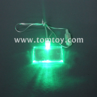 led rectangle necklace tm00057-rectangle