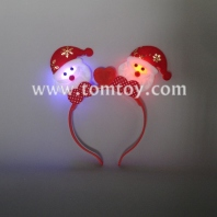 led santa claus headband tm02759